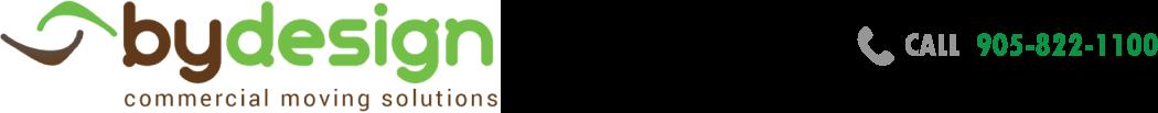 bydesignofficemovers.com Logo